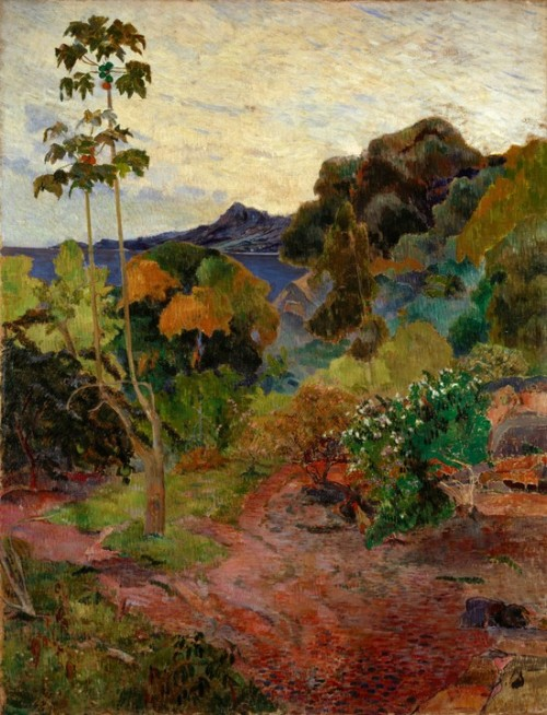 Paul Gauguin, 1887, Martinique Landscape