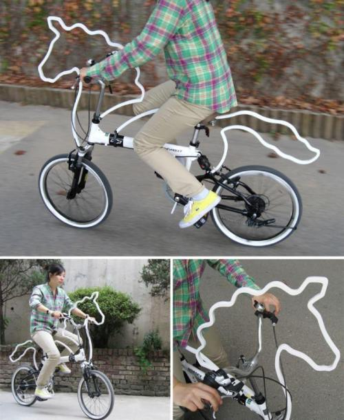 papermag:  This Horsecycle is definitely at the top of our Christmas list this year.