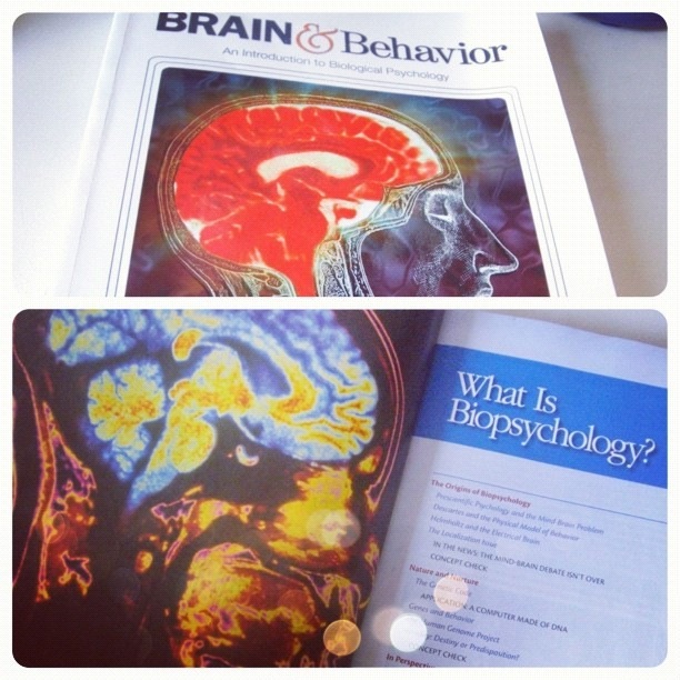 Is it bad if I actually enjoy reading my neuro textbook? (Taken with Instagram)