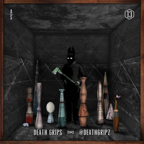 "Listen to Death Grips' entry in the Adult Swim Singles Series: ""@DEATHGRIPZ""."