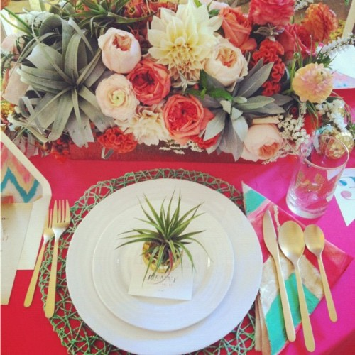 Gorgeous table #decor at fizz and frills #wedding @utterlyengaged  (Taken with Instagram)
