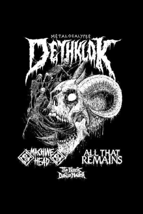 seasons-wither:  Machine Head will be supporting Dethklok along with All That Remains and The Black Dhalia Murder in the US this fall! More info here.