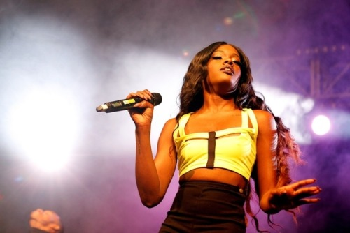 "How Azealia Banks Made Me Fierce by Jamieson Cox:  Banks goes further than the hat-tips to proud sexuality offered by the likes of Katy Perry in ""Firework"" and Ke$ha in ""We R Who We R"" by referencing seminal movements and moments in the history of queer culture. The courage of this decision is only amplified by her chosen art form, given the hip-hop community's current status as one of America's final remaining bastions of homophobia in pop culture. In a personal sense, I appreciate Banks' contribution because of my own experience with the distancing effect that can result from encounters with homophobic lyric."