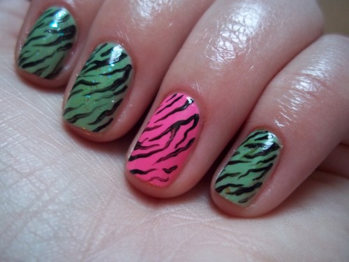 Can't go wrong with Zebra print.