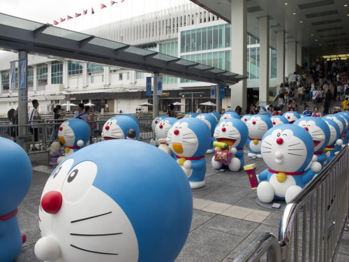 Hong Kong celebrating 100 years before the birth of Doraemon!