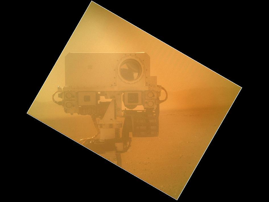 Mars Rover Curiosity GPOY (via NASA - Rover Takes Self Portrait)