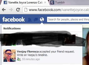 happy :)))) I'm a supeeer fan of Veejay Floresca just now! he's awesome :)