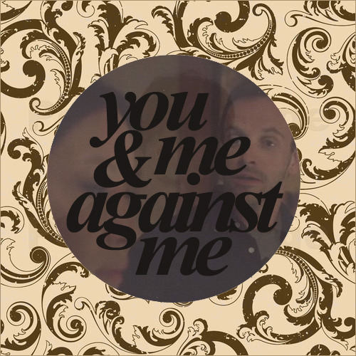 ineveryending:  you & me against me, a sherlock/joan fanmix {gigantic thanks to endquestionmark and egalitarianmuse for helping and encouraging me to finish} i. gun-shy sunshine | silversun pickups with your gun-shy sunshine / with my headstrong highlights / with our hands drawn and eyes dried ii. the rifle's spiral | the shins long before you were born / you were always / to be a dagger floating / straight to their heart iii. two against one | danger mouse & daniele luppi (ft. jack white) this ain't no free-for-all to see / there's only three / it's just you and me against me iv. reptilia | the strokes the wait is over / i'm now taking over / you're no longer laughing / i'm not drowning fast enough v. bloody nose | summer camp why did you have to do it this time? / what were you gonna prove to me this time? vi. memory loss | the radio dept. if i curse / if i should accuse you / please tell me that i'm wrong vii. to binge | gorillaz i'm caught again in the mystery / you're by my side, but are you still with me? viii. angels | the xx and the end is unknown / but i think i'm ready / as long as you're with me listen or .zip it