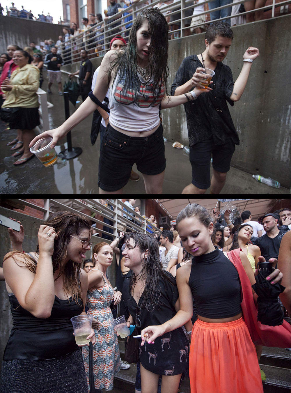 Crowd at MoMA PS1 Warm Up on September 8th, 2012 in New York City.Photos by David Andrako on assignment for Rolling Stone more at rollingstone.com