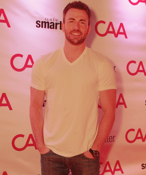 fuckyeah-chrisevans:  Chris attend CAA's party to celebrate the 2012 Toronto International Film Festival on Sunday (September 9) in Toronto, Canada.