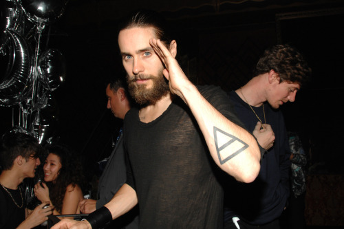 mandolinaes:  HQ @JaredLeto OPENING CEREMONY 10th Anniversary Party, September 9, 2012