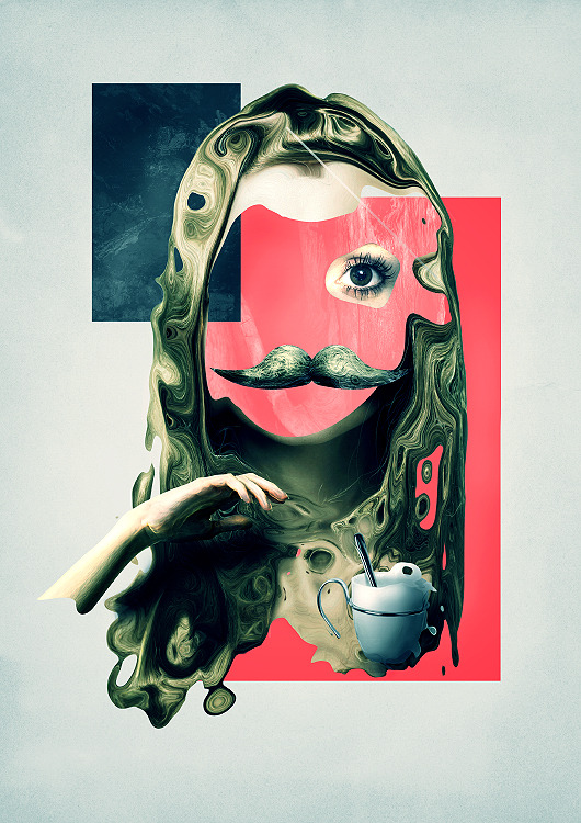 hushaby:  Laurent Monnet's Mind-Bending Digital Illustration « Beautiful/Decay Artist & Design