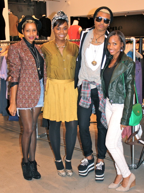 blackfashion:  Fashion's Night Out, San Francisco. http://idressthereforeiamla.com