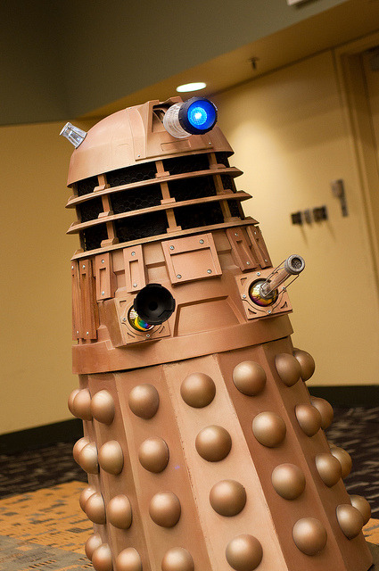 Dalek - Baltimore Comic Con 2012 on Flickr.  —-> Full Baltimore Comic Con 2012 album —-> Full Cosplay and Conventions album —-> The New Website.