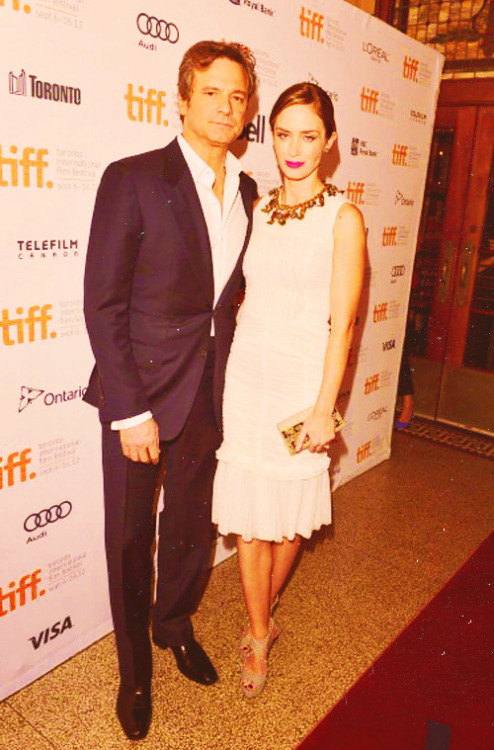 Colin Firth and Emily Blunt - TIFF12, September 10, 2012