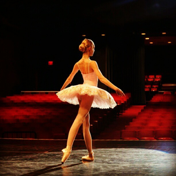 balletshoesandbobbypins:  Bam! #dance #ballet (Taken with Instagram)