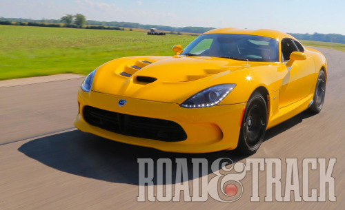 The 2013 SRT Viper has evolved from its predecessor in terms of power, control, weight, and features, but at the cost of doubling the price tag. (Source: Road & Track)
