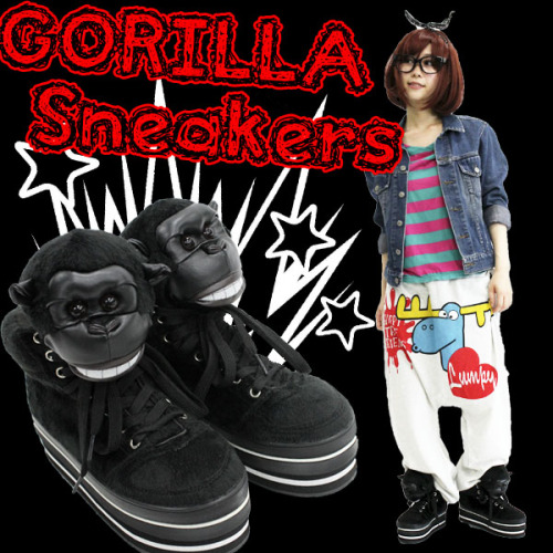 Gorilla Sneakers by FUNKY FRUIT