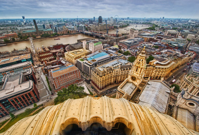 Old London From Above (by Stuck in Customs)