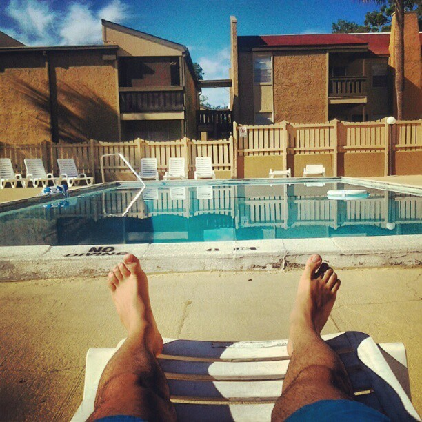 Beautiful day at the pool #fsu #sun #relaxing #after #classical  (Taken with Instagram)