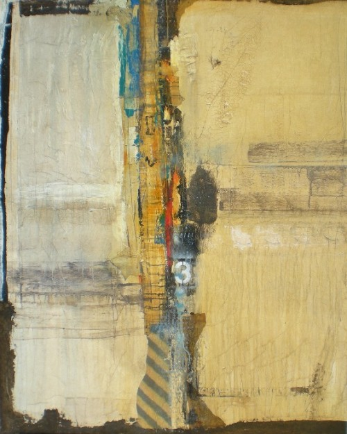 "dailyartjournal:  Peter Kuttner, ""Noise II"", mixed media"
