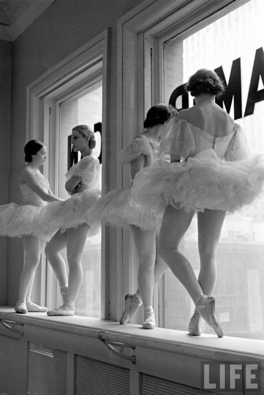 vanished:  Alfred Eisenstaedt - George Balanchine's School of American Ballet 1936