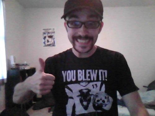 Reppin my You Blew It! swag for tonight's Frank Turner show. Everything is fucking wonderful.