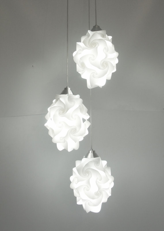 Set of 3 Chi Small Lamps by LuzMariaLighting Would love to have this at my own home! posted by http://aliljazz.tumblr.com