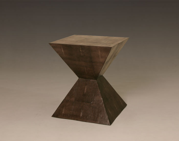 Rene Pyramid Side Table at Julian Chichester.