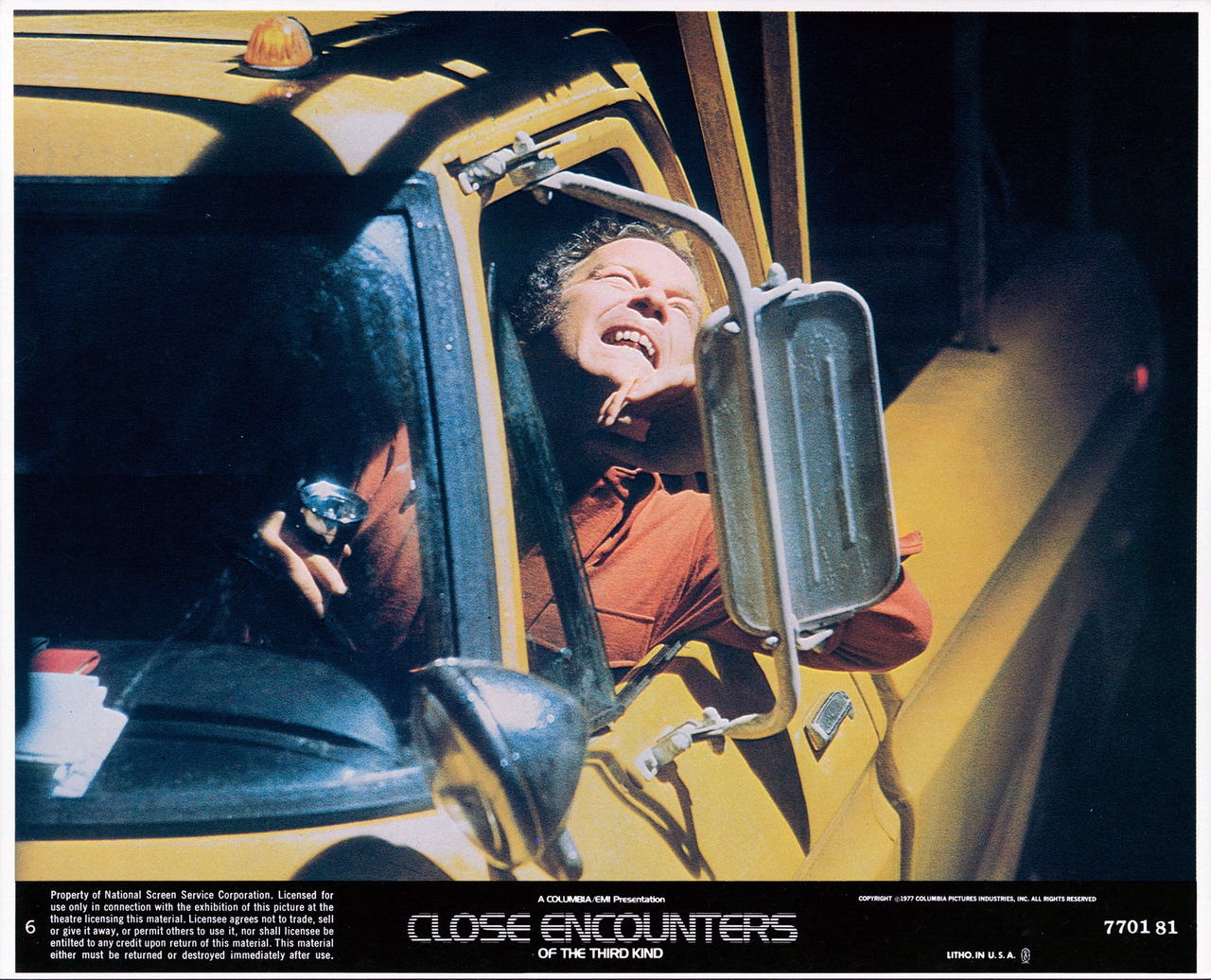 Close Encounters of the Third Kind, US lobby card. 1977
