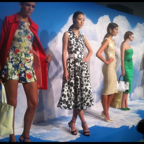 Let @alice_olivia frock you. So hard. #nyfw  (Taken with Instagram)