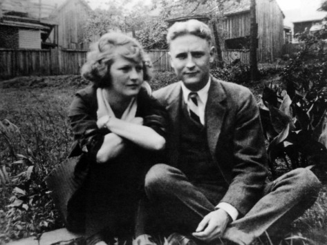 hot-gingers:  F. Scott and Zelda Fitzgerald
