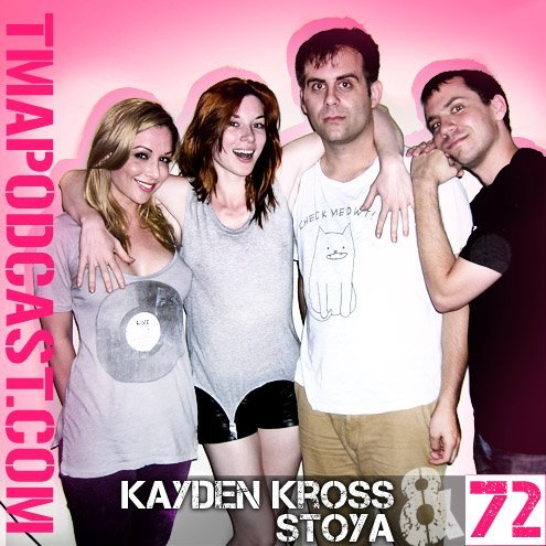 EPISODE 72: Kayden Kross & Stoya On this episode we welcome back some of Jake & Eli's favorite people in the whole wide world: Kayden Kross & Stoya. We discuss the duo's friendship as well as Jake & Eli's, Stoya's lyra, Kayden's writing, and we let the pair ask us anything they want. Even though we already know the answer to the final question, we ask it anyway, and it becomes 2 vs. 2 for the most elegant debate on cats vs. dogs. Enjoy!