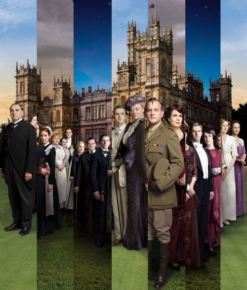 fuckyeahladymaryseyebrows:  Downton Abbey Series 1, 2 & 3
