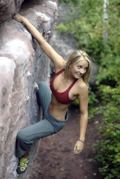 Hey look the reason I started rock climbing. The reason I stopped? Gravity.