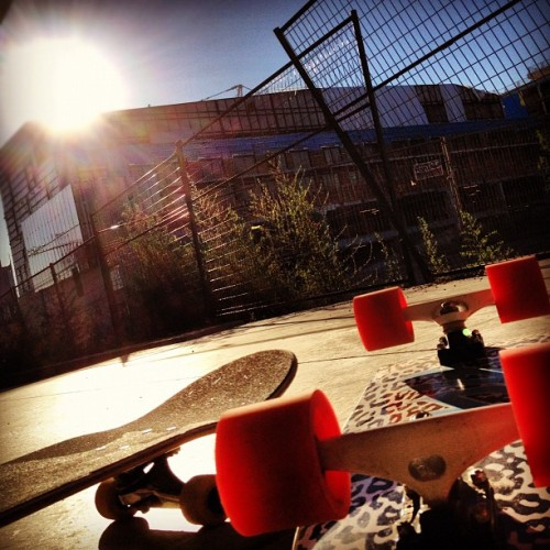 #skateboard  (Taken with Instagram)