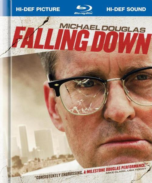 Movies I've Watched Recently:Falling Down [1993]Starring: Michael Douglas, Robert Duvall, Barbara Hershey, and Rachel Ticotin. Directed by Joel Schumacher.