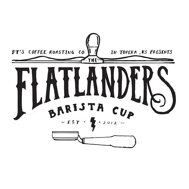 Logo design for the inaugural Flatlanders Barista Cup at @ptscoffee.  (Taken with Instagram)