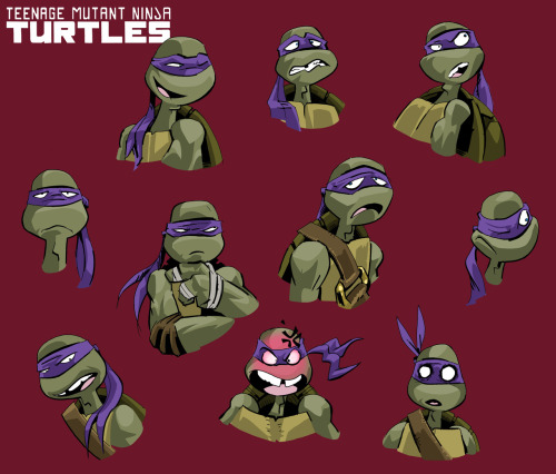 tmntmaster:  Early sketches of Donnie from the new #NickTurtles series  http://www.turtlesvsfoot.com/