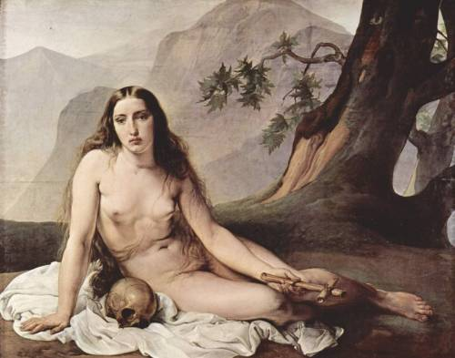 hard-2-handle:  Francesco Hayez  |  Penitent Mary Magdalene, 1825