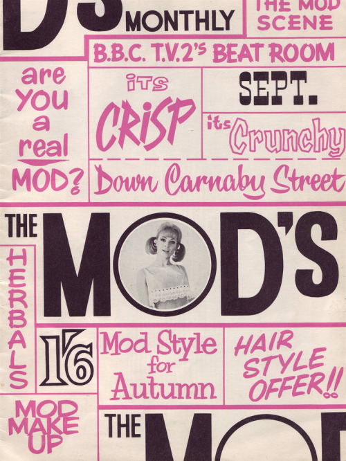 The Mod's Magazine 1964
