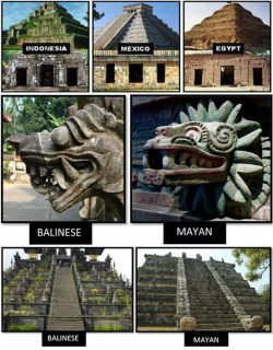 aztecamemoria:  temactli:  aztecamemoria:  Comparison of pyramids and art. Only Sumerian seems to be missing.  Oh oh oh oh , no no no La primera piramide donde dice México, es la piramide de kukulkan de la cultura Maya, la representación de Quetzalcoalt de piedra, es del templo de Quetzalcoatl y Tlalloc en Teotihuacan (no es maya) Y la ultima parece ser otra vista de la piramide de Kulkulkan, donde se ve el tocado de las serpientes en la escalera, esa si es maya.  Yeah, I noticed that myself, that it was Teotihuacan, which is not Mayan or Aztec.  Deleting my last re-blog of this in exchange for this one. It has vital information that is essential to historical accuracy that the last post lacked and the last thing I want to do is confuse those who follow me about cultures I am passionate about.