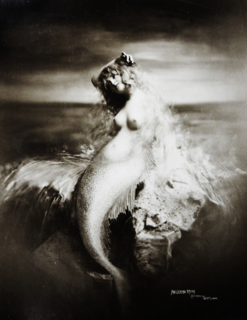 vintagegal:  Mermaid, 1896 (via)