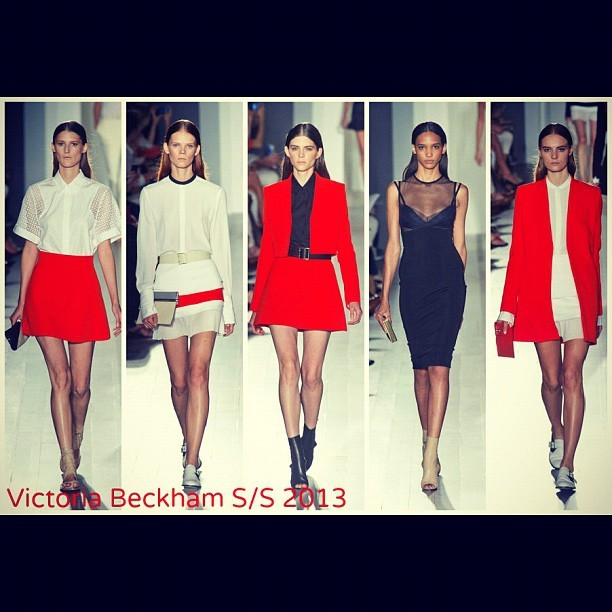 Victoria Beckham S/S 2013 - Sharp :: Sophisticated :: Chic (Taken with Instagram)