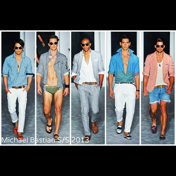 Michael Bastian S/S 2013 - Prep Looks :: Resort Chic #NYFW (Taken with Instagram)