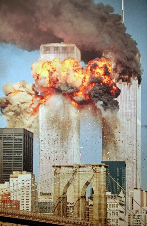 biteeyourtongue:  never forget  Last year on 9/11, was started my first day of an online chat room SAT class. So logged in a little late, and was surprised to hear this lady harping about how annoying it is that we still acknowledge 9/11 and that we should just give it a rest already because everybody is over having to remember it. She lived in New York.I didn't really know how to process that. Never did that class again.