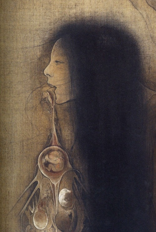 decapitated-unicorn:  松井冬子