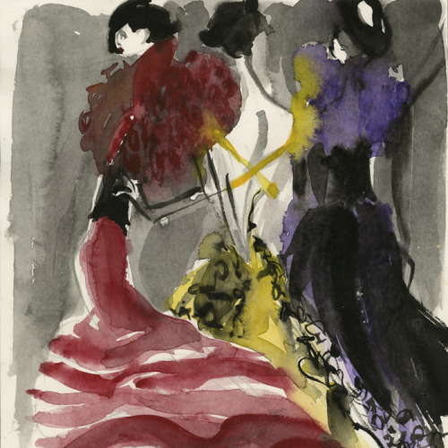 ralphlauren:  Sketches capture my mood, they are about what I am feeling for the season.  -RL  Can't wait to see what @ralphlauren creates for this #nyfw!