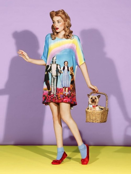 "punkrockpromqueens:   Peter Alexander Sleepwear- ""Over the Rainbow"" nighty"