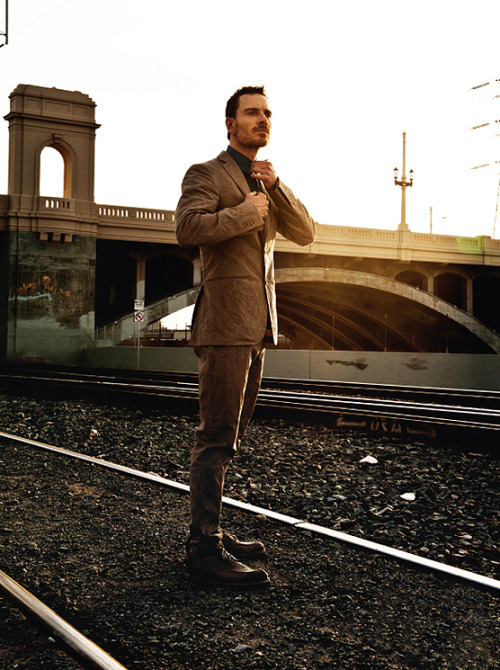 Michael Fassbender for L'Uomo Vogue Jan 2012